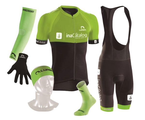 Equipacion ciclismo MTB lurbel para inacatalog