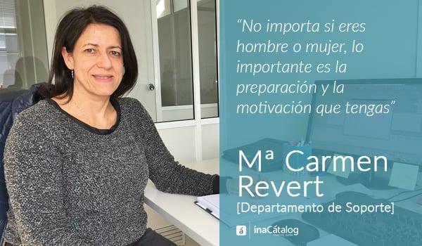 Mujeres informáticas en el Día Internacional de la Mujer Mari Carmen