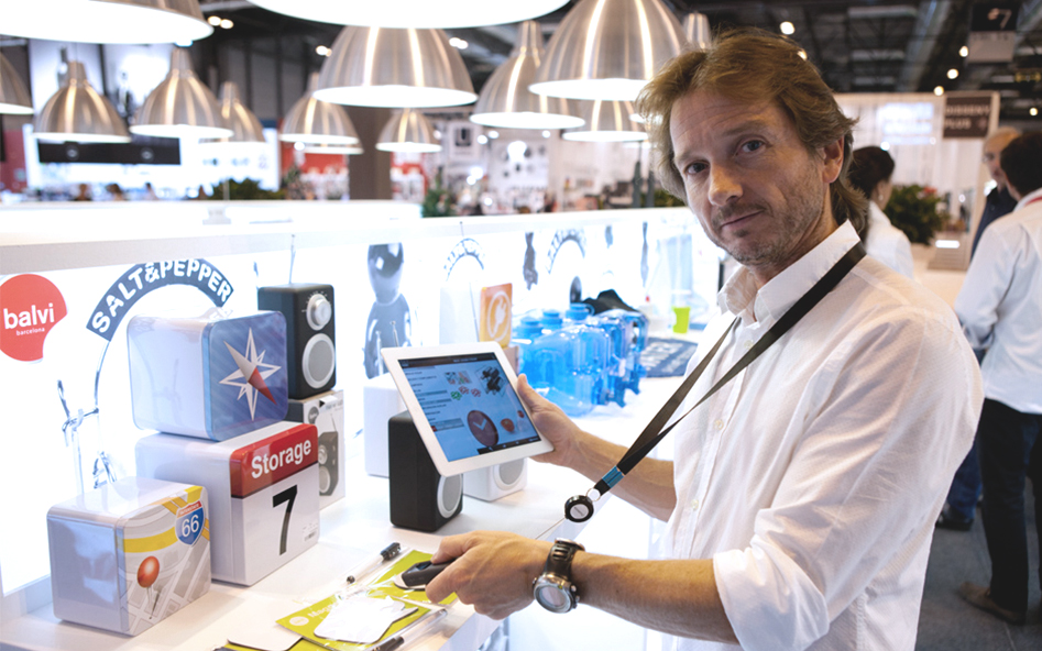"""With inaCátalog we have simplified taking orders during trade fairs"""