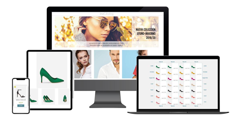 b2b inacatalog web ecommerce